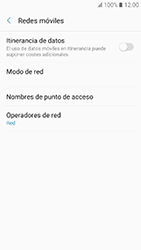 Samsung Galaxy A3 (2017) (A320) - Red - Seleccionar una red - Paso 6