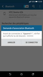 HTC Desire 626 - Bluetooth - Jumeler avec un appareil - Étape 7