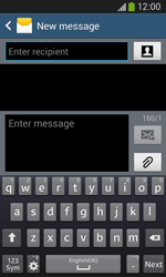 Samsung Galaxy Core Plus - Mms - Sending a picture message - Step 4