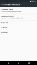 LG Nexus 5X (H791F) - Android Nougat - Netwerk selecteren - Handmatig een netwerk selecteren - Stap 9