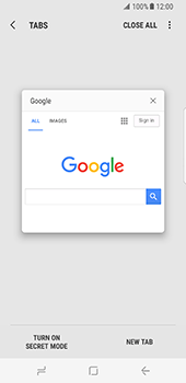 Samsung Galaxy S8 - Internet - Internet browsing - Step 15