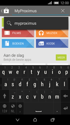 HTC Desire 320 - Applicaties - MyProximus - Stap 6