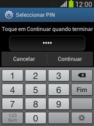 Samsung Galaxy Pocket Neo - Segurança - Como ativar o código de bloqueio do ecrã -  8