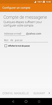 ZTE Blade V9 - E-mail - Configuration manuelle (yahoo) - Étape 10