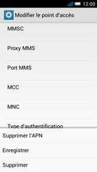 Alcatel OT-7041X Pop C7 - MMS - Configuration manuelle - Étape 16