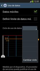 Samsung Galaxy S4 - Internet - Ver uso de datos - Paso 6
