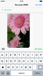 Apple iPhone 6 iOS 8 - MMS - envoi d'images - Étape 12