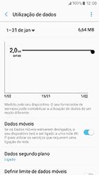 Samsung Galaxy A3 (2017) - Internet no telemóvel - Como ativar os dados móveis -  7