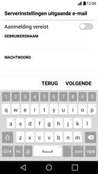 LG X Screen - E-mail - Handmatig instellen - Stap 16