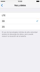 Apple iPhone SE - Red - Seleccionar el tipo de red - Paso 6