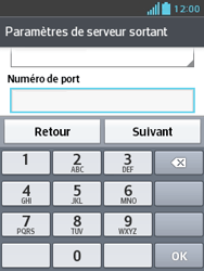 LG E430 Optimus L3 II - E-mail - Configurer l