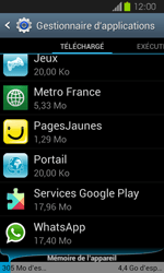 Samsung Galaxy Express - Applications - Supprimer une application - Étape 5