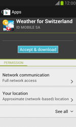 Samsung I8190 Galaxy S III Mini - Applications - Download apps - Step 16