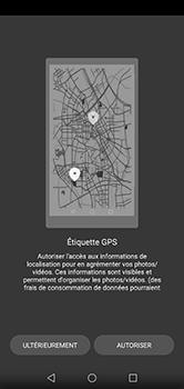Huawei P20 lite - Photos, vidéos, musique - Créer une vidéo - Étape 5