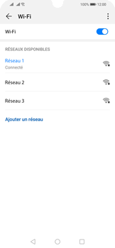 Huawei P Smart (2019) - Wifi - configuration manuelle - Étape 7