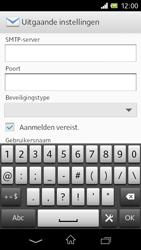 Sony C1905 Xperia M - E-mail - Handmatig instellen - Stap 13