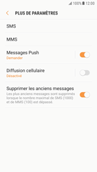 Samsung G920F Galaxy S6 - Android Nougat - SMS - Configuration manuelle - Étape 7