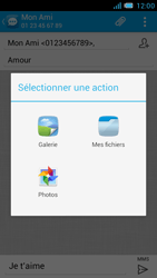 Bouygues Telecom Bs 471 - Contact, Appels, SMS/MMS - Envoyer un MMS - Étape 14
