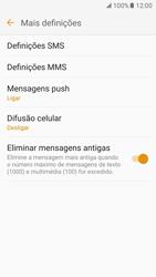 Samsung Galaxy S7 - SMS - Como configurar o centro de mensagens -  7