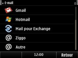 Nokia E6-00 - E-mail - Configuration manuelle - Étape 6