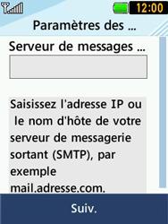 LG T580 - E-mails - Ajouter ou modifier un compte e-mail - Étape 10