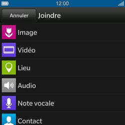BlackBerry Q10 - MMS - envoi d'images - Étape 9