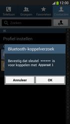 Samsung I9195 Galaxy S IV Mini LTE - Contactgegevens overzetten - delen via Bluetooth - Stap 12