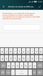 Huawei Y635 Dual SIM - SMS - Configuration manuelle - Étape 7