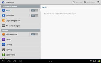 Samsung N8020 Galaxy Note 10-1 LTE - WiFi - Handmatig instellen - Stap 4