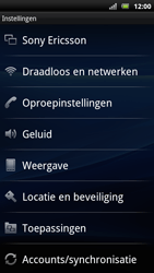 Sony Ericsson Xperia Arc S - Voicemail - handmatig instellen - Stap 4