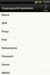 HTC Desire C - Internet - Internetverbindung - Manuelle Einstellung - Schritt 8