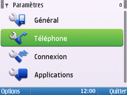Nokia E5-00 - Réseau - Utilisation à l