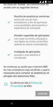 Wiko View Dual SIM - Primeiros passos - Como ligar o telemóvel pela primeira vez -  20