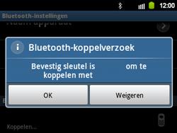 Samsung B5510 Galaxy TXT - Bluetooth - koppelen met ander apparaat - Stap 11