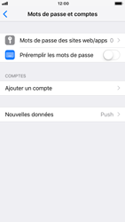 Apple iPhone 6 - iOS 12 - E-mail - Configuration manuelle - Étape 5