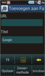 Samsung S8300 Ultra Touch - Internet - Hoe te internetten - Stap 6