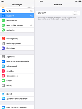 Apple iPad mini iOS 9 - WiFi en Bluetooth - Bluetooth koppelen - Stap 4