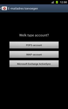Samsung N7000 Galaxy Note - OS 4 ICS - E-mail - handmatig instellen - Stap 8