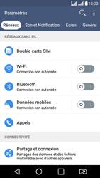 LG K8 - Internet - Activer ou désactiver - Étape 6