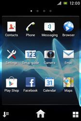 Sony ST23i Xperia Miro - Internet - Internet browsing - Step 2