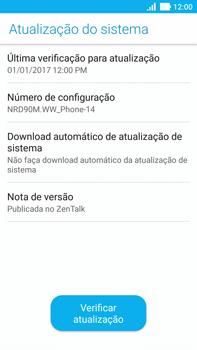 Asus Zenfone 3 - Funções básicas - Como atualizar o software do seu aparelho - Etapa 6