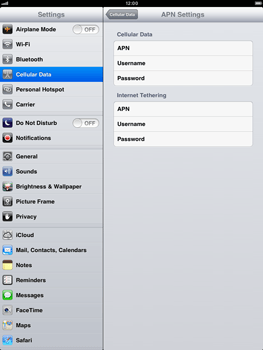 Apple iPad mini - Internet - Manual configuration - Step 6