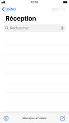 Apple iPhone SE - iOS 13 - E-mail - envoyer un e-mail - Étape 2