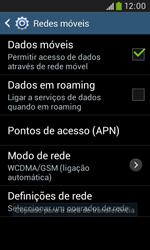 Samsung Galaxy Trend Plus - Internet no telemóvel - Como configurar ligação à internet -  6