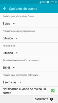 Samsung N910F Galaxy Note 4 - E-mail - Configurar Outlook.com - Paso 7