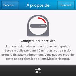 BlackBerry Q10 - Internet et connexion - Partager votre connexion en Wi-Fi - Étape 10