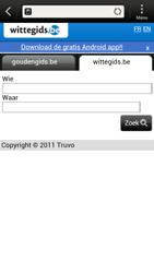 HTC Z520e One S - Internet - Hoe te internetten - Stap 11