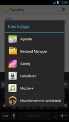 Huawei Ascend P1 LTE - E-mail - Hoe te versturen - Stap 10
