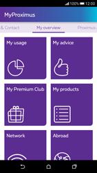 HTC Desire 626 - Applications - MyProximus - Step 11