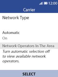 Nokia 8110 Banana - Network - Usage across the border - Step 6